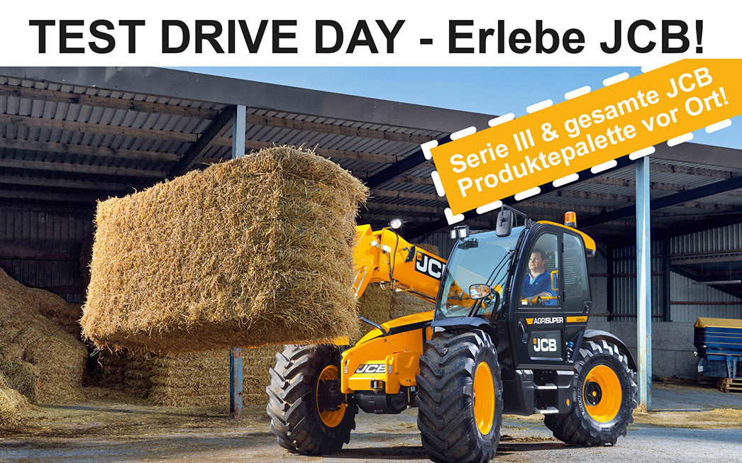 JCB Test Drive Day - neue Serie III